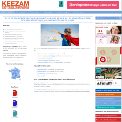 developpeur site keezam